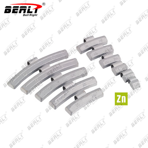 WB-002 ZN  Clip-On Wheel Weight