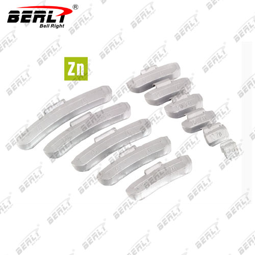 WB-003  ZN Clip-On Wheel Weight
